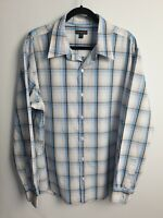 Colorado Men's Casual Front Button Up Long Sleeve Check Shirt XX Large