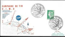 France Space Cover 1973. Cooperation in Space CIMO. Kourou French Guiana