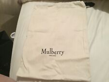 Small Beige Mulberry Dust Bag.