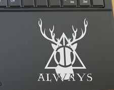 Harry Potter Deer Deathly Hallows Always Expecto Patronum Vinyl Decal Sticker