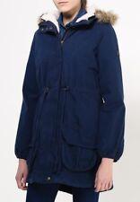 Adidas Women's Neo SHRP Parka Jacket Ladies Coat Hooded Jacket M32623 - Navy