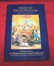 """Srimad Bhagavatam"" Tenth Canto-Part Two Chap 6-12 *1977 1st Print* VG+++"
