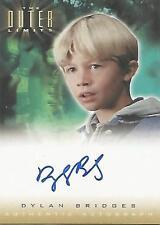 "Outer Limits Sex, Cyborgs...: A11 Dylan Bridges ""Josh Kress"" Autograph Card"