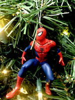 2020 Spider-Man Christmas Tree Ornament Spidy Spiderman New In Action
