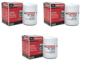 3 Genuine Motorcraft Professional Engine Oil FilterS FL-500S AA5Z-6714-A
