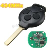 3 Buttons 434MHz Chip Remote Key Fob For MercedesBenz Smart Fortwo 451 2007