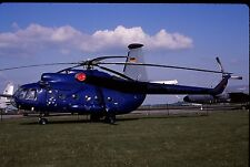 Original colour slide Mi-8T Hip 94+12 of German Navy