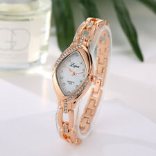 Women Fashion Rhinestone Dial Casual Watches Analog Quartz Bracelet Wrist Watch