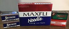 Golf Ball Lot Of 20 Srixon Ad333, Precept, Maxfli Noodle.
