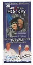 Mr & Mrs Hockey Gordie Howe DETROIT RED WINGS AUTOGRAPH BOOK PAMPHLET