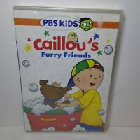 Caillou - Caillous Furry Friends (DVD, 2015) NEW SEALED PBS Kids family film