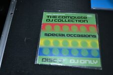 DMC     THE COMPLETE DJ COLLECTION SPECIAL OCCASIONS  Music CD   BOX 4- 2