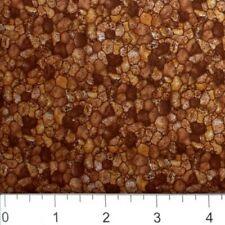 Nature Landscape Fabric - Rocky Pebble Stone Gravel Blender Muddy Brown - YARD