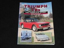 TRIUMPH TRs THE COMPLETE STORY GRAHAM ROBSON 1996 PAPERBACK