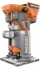 Cordless Brushless Compact Fixed Base Router, Tool Free Depth Adjustment 18 Volt