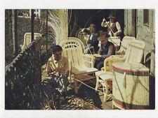 Uma Arte de Madeira Obra de Cesteira Postcard 722a