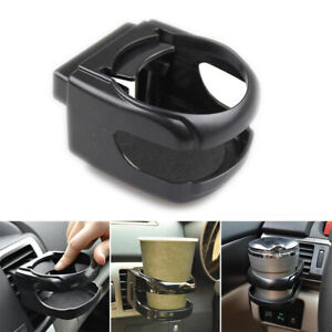 Universal Car Air Vent Holds Bottle Can Bottle Drink Cup Clip-on BlackCup Holder