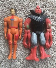 Obscure Vintage Power Lords Action Figure Toy Lot Revell 1982 Adam Power