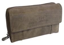 Damen Geldbörse hochwertiges Portemonnaie Geldbeutel Brieftasche 7 Farben / Groß