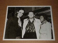 Jerry Lee Lewis/John Hartman/Ann Peebles 10 x 8 1974 Agency Publicity Photo