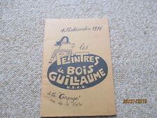REVUE LES PEINTRES DE BOIS GUILLAUME A LA GRANGE decembre 1976