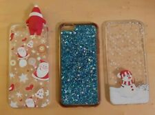 Set of 3 Cases for iPhone 6S Phone Cover Silicone ** Excellent Condition **