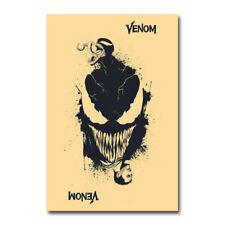 Venom Silk Poster Superhero Movie Canvas Wall Art Print 12x18 24x36 inch