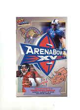 2001 AFL Arena Bowl XV Finals Grand Rapids vs Nashville official game program