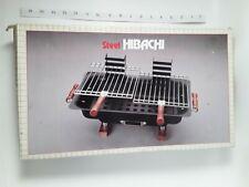 Vintage Steel Hibachi Tabletop Grill 10179 12 H Original Box Unused Nos