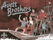 AVETT BROTHERS Poster Lafayette Louisiana March 2018 Darin Shock - Mint