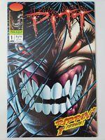 PITT #1 (1993) IMAGE COMICS FANTASTIC 1ST PRINT! DALE KEOWN AMAZING ART!