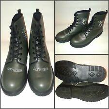 Harry Potter Hogwarts Slytherin Boots, Green, Rare, Mens 8.5, Womens 11, E.U. 42