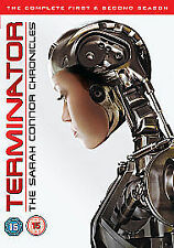 TERMINATOR - THE SARAH CONNOR CHRONICLES - SEASONS 1 & 2 - DVD - REGION 2 UK