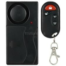 Wireless Remote Control Vibration Alarm Home House Security Sensor Detector U9K9