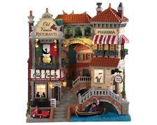 Lemax /85318/ Venice Canal Shops Illuminé Façade LED / Village de Noël