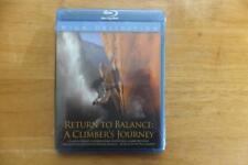 RETURN TO BALANCE-A CLIMBERS JOURNEY-RON KAUK-BLU-RAY-REGION FREE-SEALED
