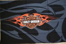 Harley Davidson SHIELD  fabric quilting panel  19x25