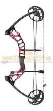 "Mission by Mathews Hammr Right Hand Pink Splash DW 16-70 lbs DL 17-29"""
