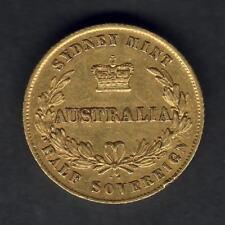 Australia. 1858 Sydney Mint - 1/2 Sovereign.. Trace Lustre - gVF..  Very SCARCE