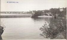 St. Martins NB New Brunswick c1910 Real Photo Postcard #4