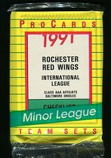 1991 ProCards Rochester Red Wings International League Team Set jh38