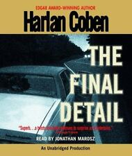 Harlan Coben THE FINAL DETAIL Unabridged CD *NEW* FAST Ship!