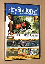 PS 2 Offizielle Magazin Demo DVD Soul Calibur 3 Wallace & Gromit PES NHL 11/2005