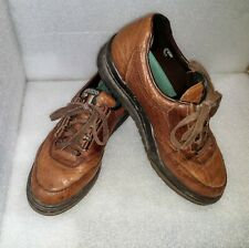 Mephisto Runoff Air Jet Brown Leather Lace Up Shoes US Size 8 Made In France