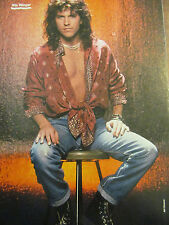 Kip Winger, Double Full Page Vintage Pinup