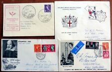 GB 1960's SPECIAL POSTMARKS COVERS (x4) (ID:281/D36613)