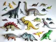Lot Of 24 Toy Plastic Dinosaur Figures