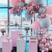 "DIY 5"" 10"" Macaron Candy Colors Latex Balloons Christmas Wedding Party Decor"