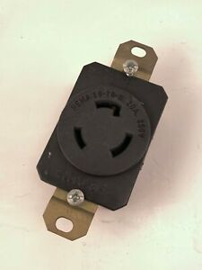 Pass & Seymour WC596/81-1 Receptacle, NEMA L6-20-R, 20A, 250V, Used