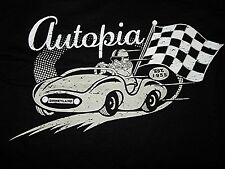 New Disney Autopia Disneyland 60th Diamond Anniversary 1955 T Shirt Le Adult S